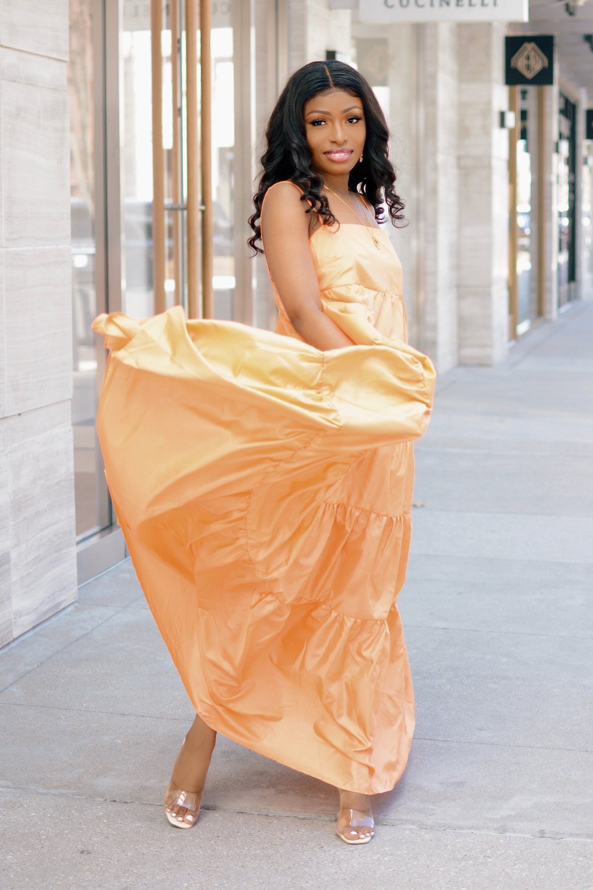 Gone With The Wind | Maxi Dress