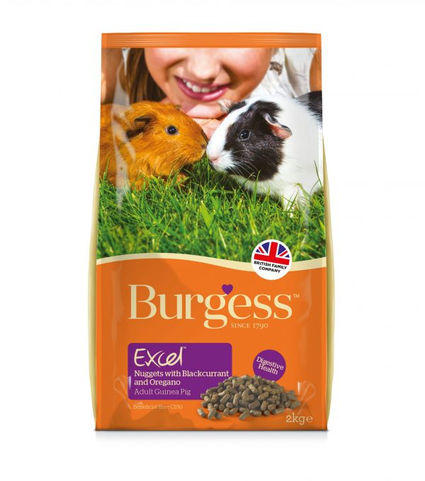 Burgess Excel Adult Guinea Pig Nuggets with Blackcurrant & Oregano