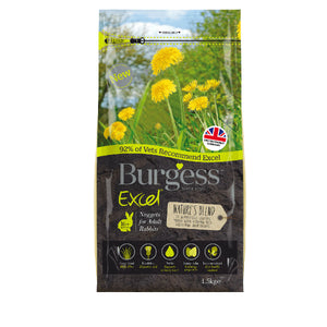 Burgess Excel Natures Blend Nuggets for Rabbits