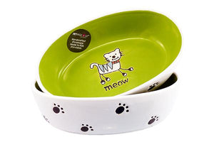 Silly Kitty Bowl Oval