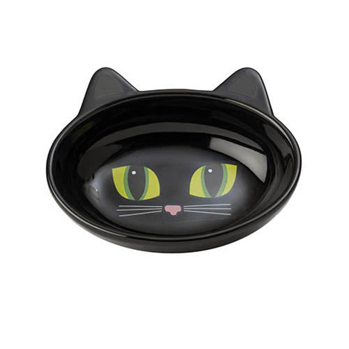 Frisky Kitty Oval Bowl