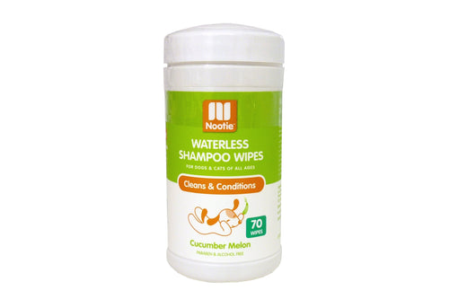 Nootie Waterless Shampoo Wipes