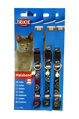 Trixie Cat Collar - Nylon with Pattern