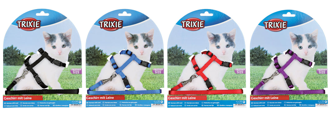 Kitten Harness & Lead - Nylon