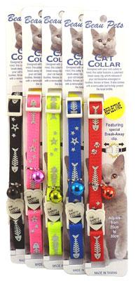 Cat Safety Collar - Fish Bones