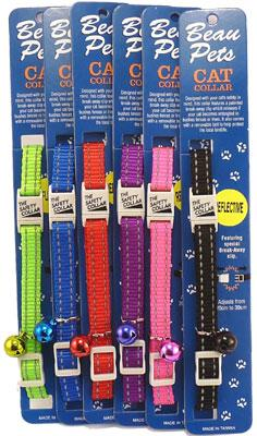 Cat Safety Collar - Reflective Thread