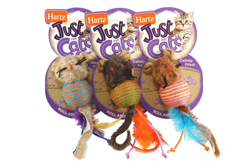 Hartz Roll About Mouse Catnip Toy