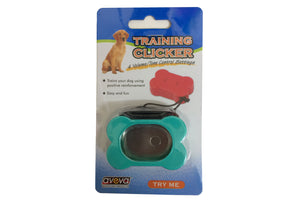 Training Clicker- Bone Shaped