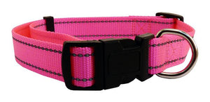 Nylon Collar with Reflect Thread