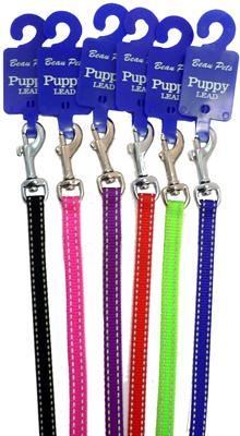 Nylon Refect Puppy Lead