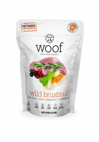 Woof Wild Brushtail 320g