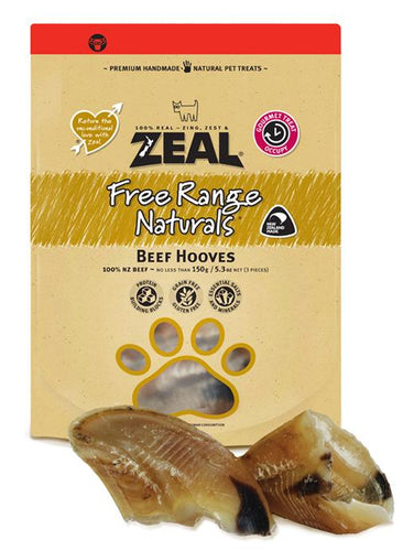 Zeal Free Range Cow Hooves