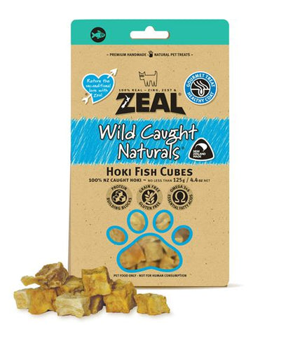 Zeal Wild Caught Hoki Cubes