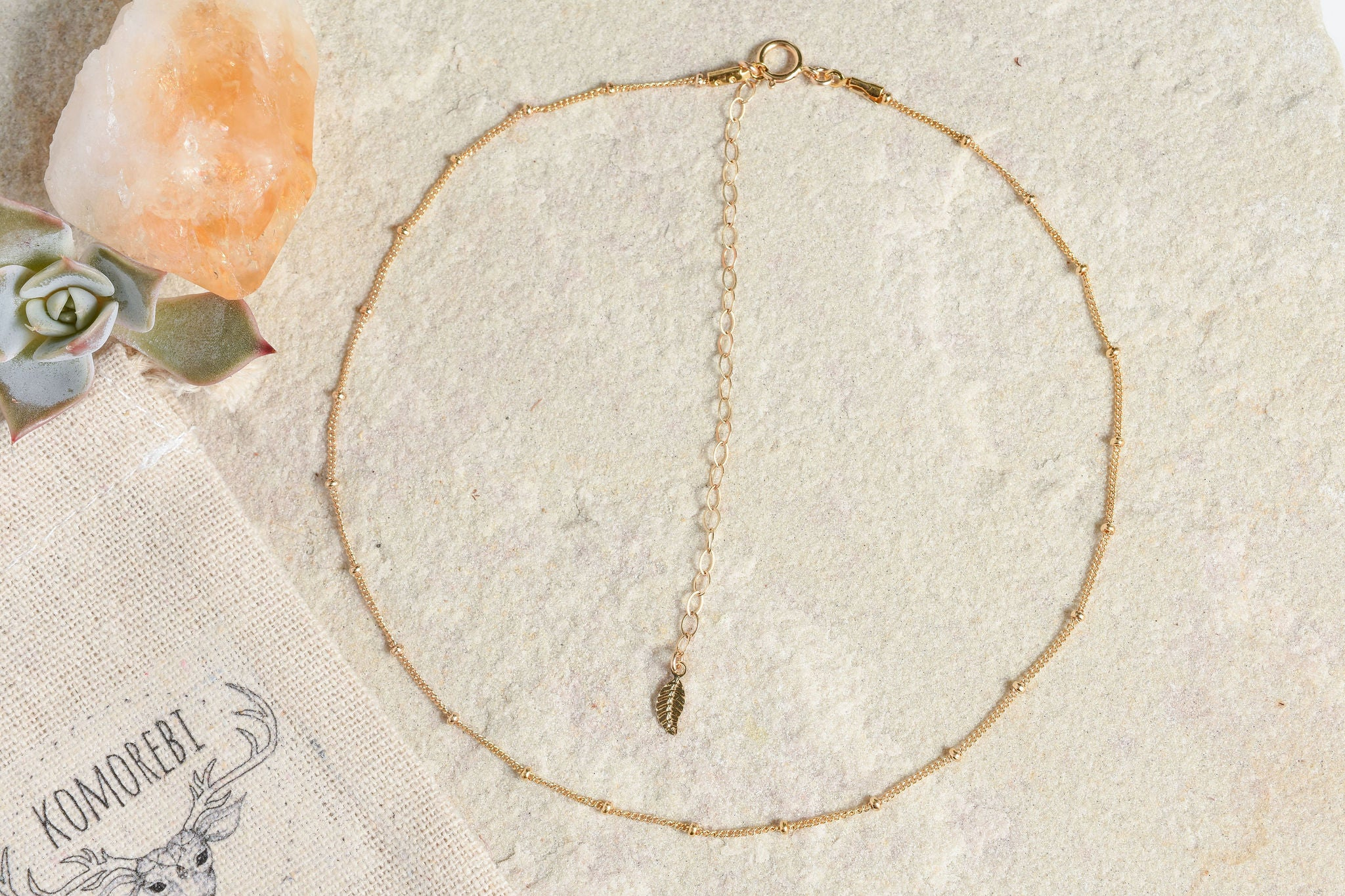 Satellite Choker in Gold or Silver