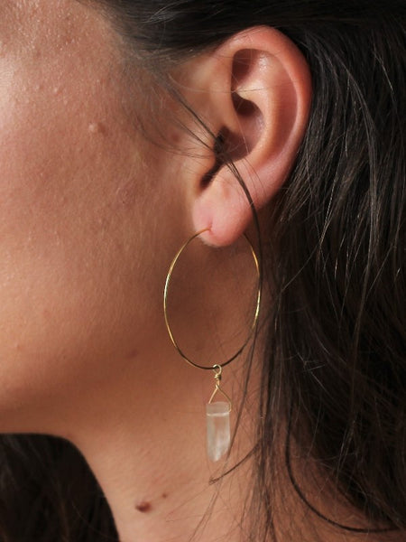 Sofia Hoops - Gold / Silver / Rose Gold