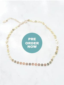 Besito Disc Choker - Gold - PREORDER