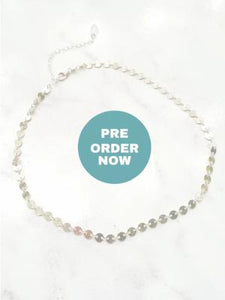 Besito Disc Choker - Silver - PREORDER