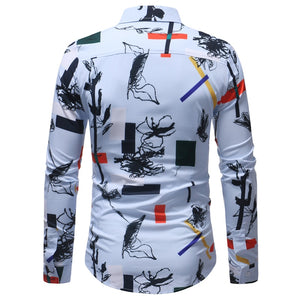 El Parche Twig and Square Long Sleeve Shirt - Pacho Herrera Narcos Shirts