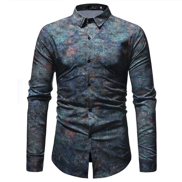 El Parche Weathered Copper Long Sleeve Shirt - Pacho Herrera Narcos Shirts