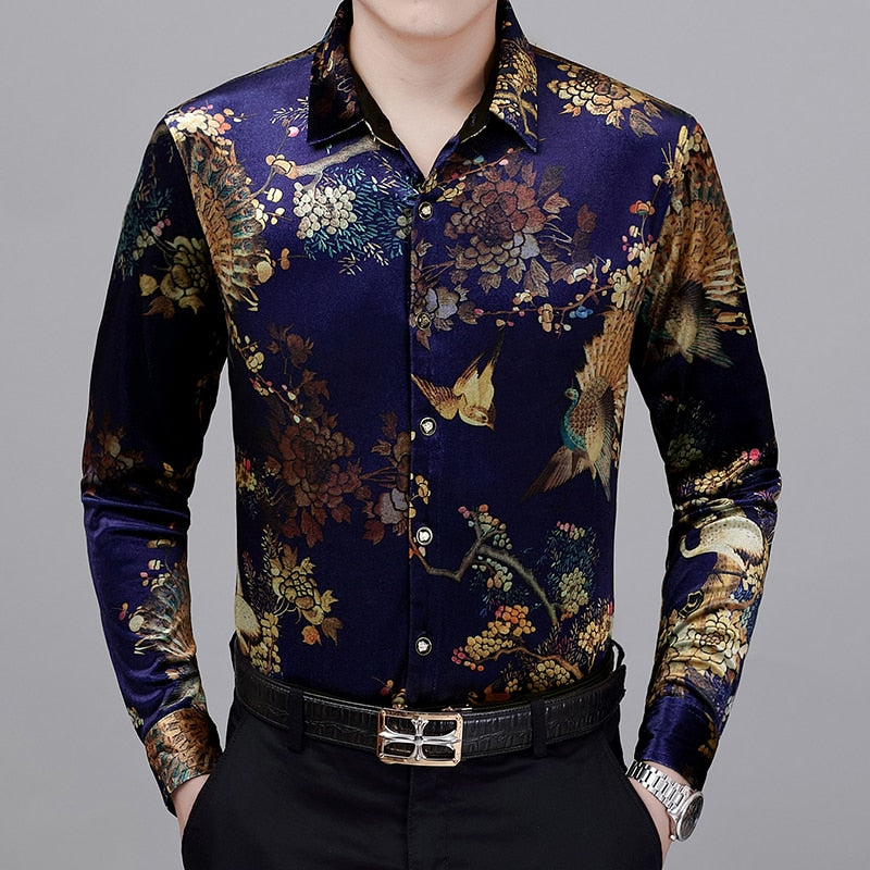 Chango Pasto Long Sleeve Shirt (Blue) - Pacho Herrera Narcos Shirts