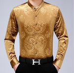Chido Yin Yang Long Sleeve Gold