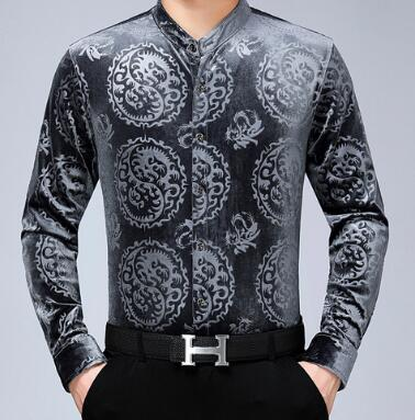 Chido Yin Yang Long Sleeve Grey