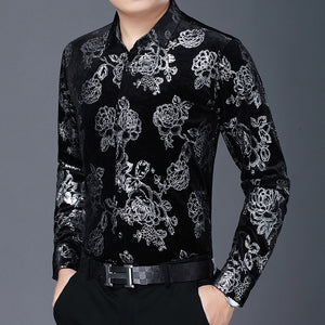 Chido Rose Gilding Long Sleeve Silver