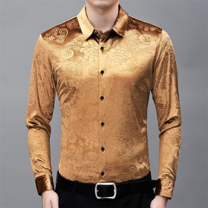 Chido Wakari Long Sleeve Gold