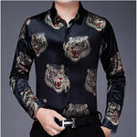 Chido Tiger Long Sleeve Black