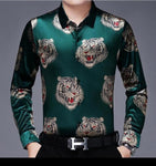 Chido Tiger Long Sleeve Green