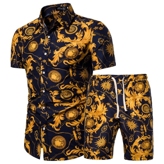 Verano Golden Sky Short Sleeve and Shorts