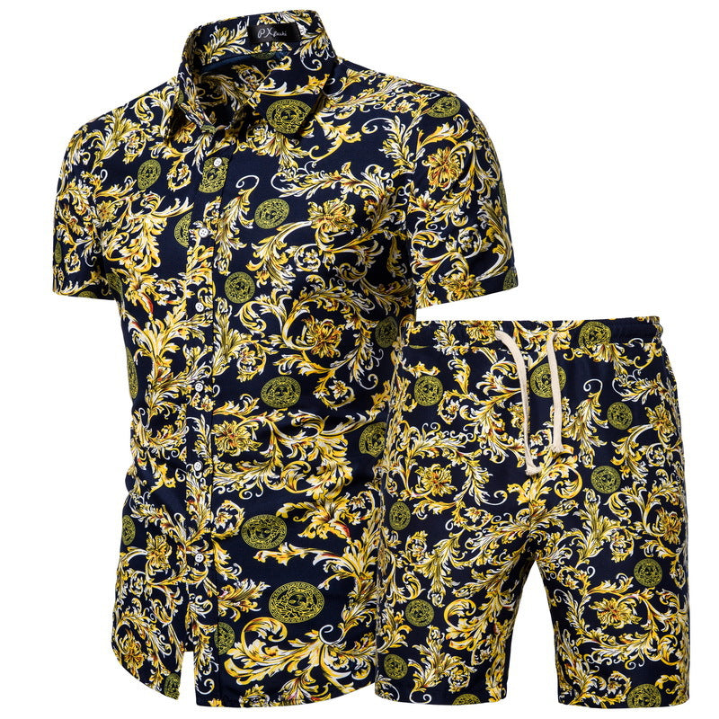 Verano Golden Vine Short Sleeve and Shorts