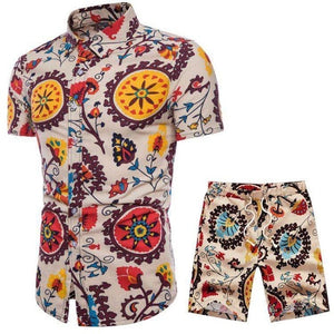 Verano Passion Fruit Short Sleeve and Shorts Combo