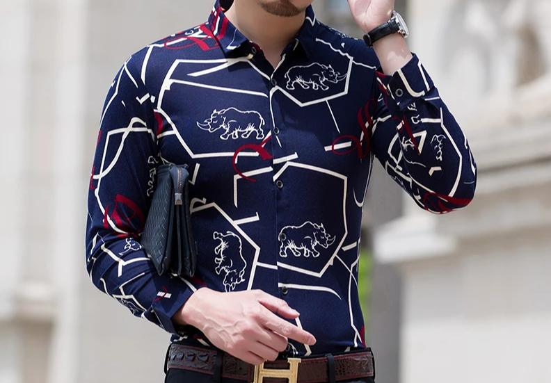 Chango La Dorada Long Sleeve Shirt (Blue/Red) - Pacho Herrera Narcos Shirts