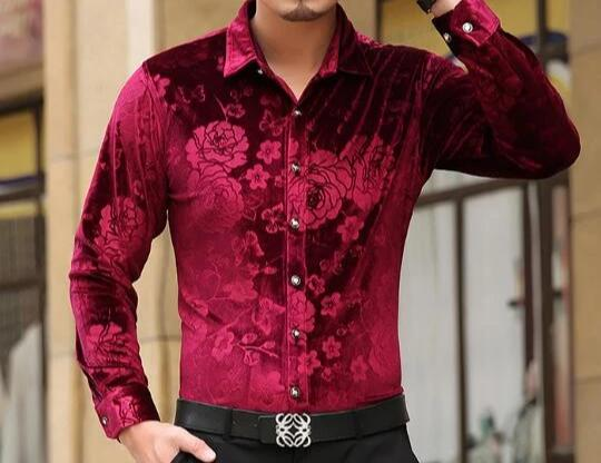 Chango Ocana Long Sleeve Shirt (Red) - Pacho Herrera Narcos Shirts