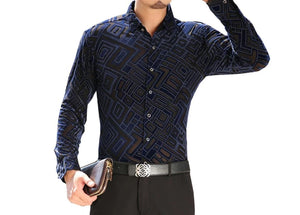 Chango Cienaga Long Sleeve Shirt (Blue) - Pacho Herrera Narcos Shirts