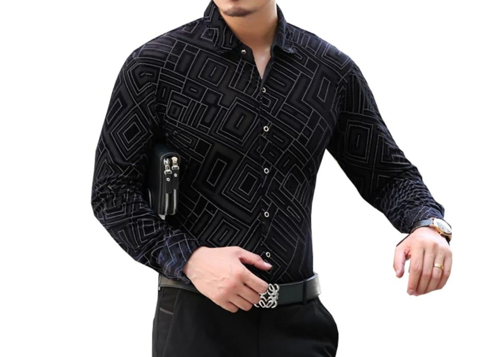 Chango Cienaga Long Sleeve Shirt (Black) - Pacho Herrera Narcos Shirts