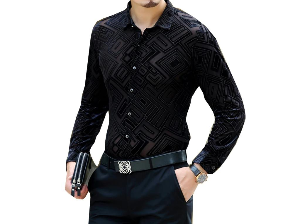 Chango Pitalito Long Sleeve Shirt (Black) - Pacho Herrera Narcos Shirts