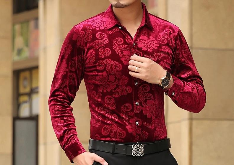Chango Espinal Long Sleeve Shirt (Red) - Pacho Herrera Narcos Shirts