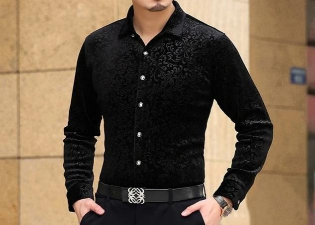 Chango Fusagasuga Long Sleeve Shirt (Black) - Pacho Herrera Narcos Shirts