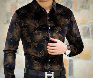 Machotes Midnight Sahara Long Sleeve Shirt - Pacho Herrera Narcos Shirts