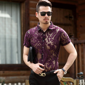 Machotes Hollow Point Paisley Short Sleeve - Pacho Herrera Narcos Shirts