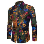 Bacano Royal Garden Long Sleeve - Pacho Herrera Narcos Shirts