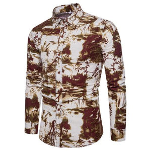 Bacano Copper Forest Long Sleeve - Pacho Herrera Narcos Shirts