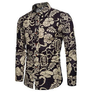 Bacano Tribal Long Sleeve - Pacho Herrera Narcos Shirts