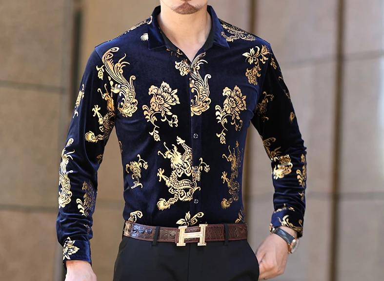 Chango San Gil Long Sleeve Shirt (Gold) - Pacho Herrera Narcos Shirts
