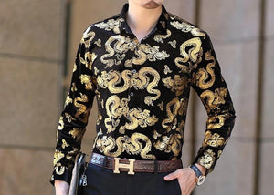 Chango Apartado Long Sleeve Shirt (Gold)