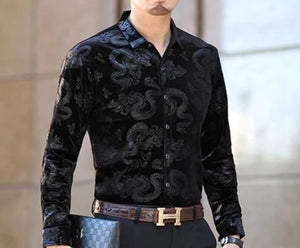 Chango Apartado Long Sleeve Shirt (Black) - Pacho Herrera Narcos Shirts