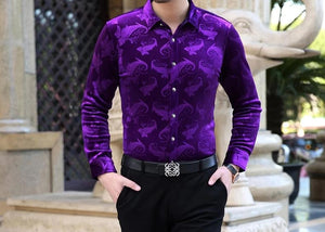 Chango Guatape Long Sleeve Shirt (Purple)