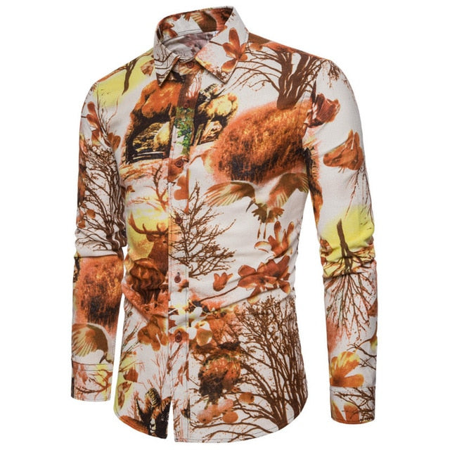 Bacano Sunset Long Sleeve - Pacho Herrera Narcos Shirts